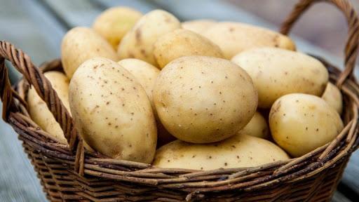 мытая картошка